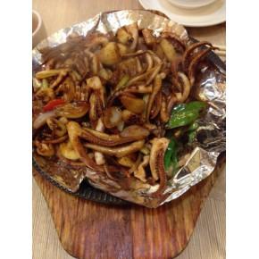 哪里铁板鱿鱼到处都是,广州学做正宗铁板鱿鱼做法?