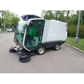 山东小林牌XL-2100电动清扫机 扫地车直销