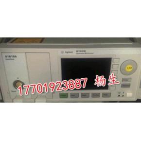 专业回收安捷伦Agilent8163A光功率计