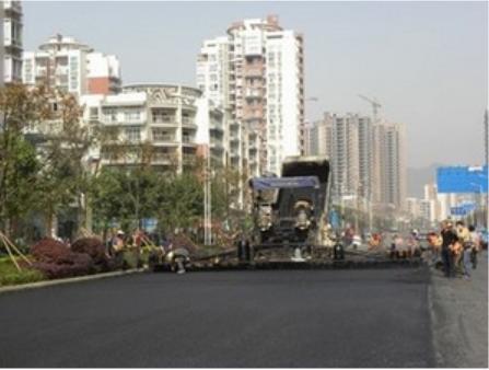 重庆专业道路摊铺建设改性沥青路面施工公司修补工程