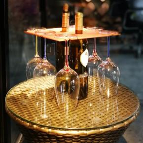 芯锐多用途创意红酒杯架家用酒架多种用途随意组装