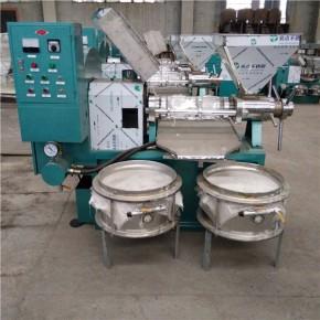 直供125型商用全自动多功能螺旋榨油机