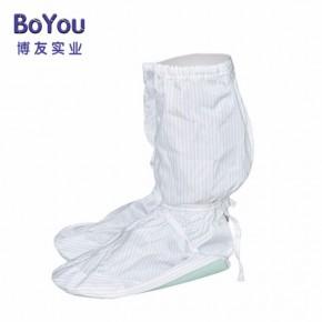 防静电PVC PU软底鞋高筒无尘耐磨软底靴防护鞋
