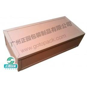 广州正园免检免熏蒸蜂窝纸箱,,重型纸箱厂家