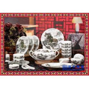 陶瓷餐具套装 厂家订做 手绘精美餐具
