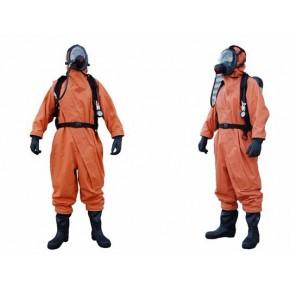 隔离式氨气防护服,煤矿事故救护发电厂防氨防毒衣