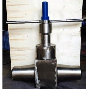 超高压锻钢截止阀-高压高温焊接截止阀