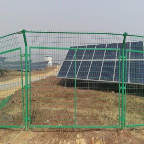光伏电站护栏网|太阳能发电站围网|水利电站护栏网