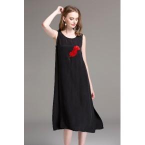 厂家直销福利 欧美风格个性时尚黑色秋季大码女装