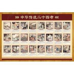 承接学校文化墙二十四孝图工程材料加工