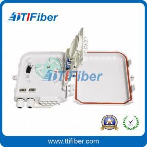 壁挂式8芯光缆分纤箱 FDB分线盒 光分路器