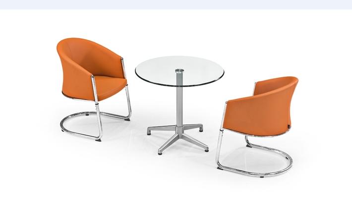 单人沙发椅银行4S店休闲椅洽谈桌椅接待办公沙发椅