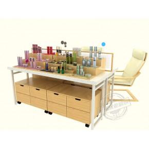 化妆品前柜 定制化妆品展柜 就选广州宜佳展柜