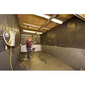 TB-SF1064PW全自动液体湿式喷砂房