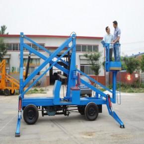 曲臂式升降机高空作业车液压电动升降车移动式升降机