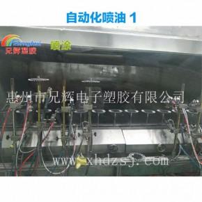 显示器外壳UV塑胶喷油公司涂层表面硬度高