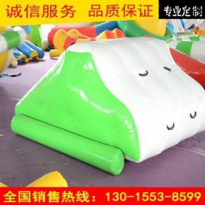 海洋球池用充气滑梯蹦床滚筒步行球跷跷板充气游乐