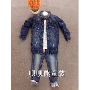 广州呗呗熊服饰欧抱抱品牌童装折扣秋装惊喜上市啦