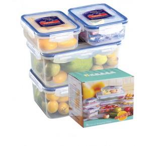 新乡保鲜盒定制塑料密封盒长方形盒收纳水果便当盒