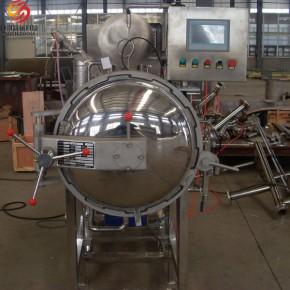 厂家直销 诸城神州机械喷淋式(直热直冷)调理杀菌釜