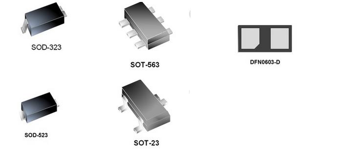 供应ESD TVS PPTC保护器件