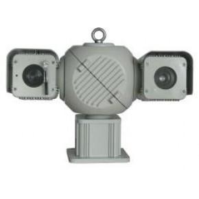 网络高清激光夜视1500米一体化云台摄像机