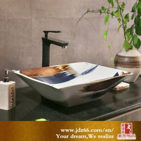 卫浴用品陶瓷洗脸盆 台上盆陶瓷艺术盆厂家