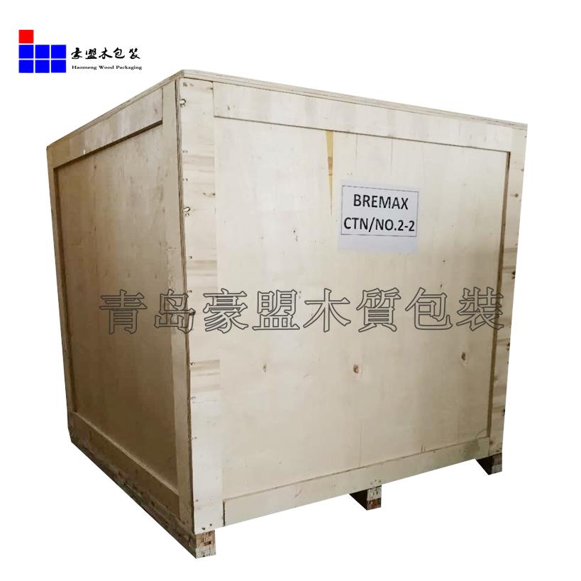供应钢带箱免熏蒸设备包装木箱物流包装运输专用