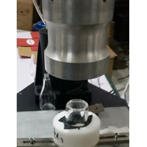 塑料超声波热熔机焊接亚克力瓶底盖