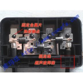 塑料超声波热熔机焊接光伏接线盒