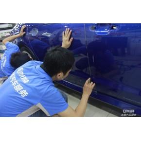 长沙奥迪感言:新车贴隐形车衣漆面保护膜封存原厂漆