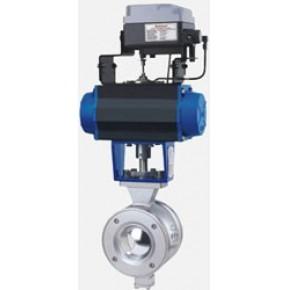 供应川速高品质VQ647气动V型球阀