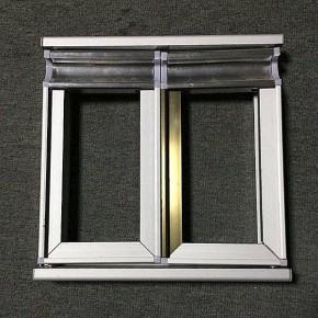 专业生产销售晶钢门铝材