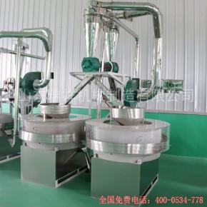 乐陵石磨厂家生产电动石磨面粉机-瑞祥机械