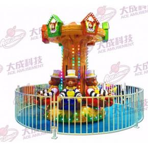 小熊抱抱 公园商场游乐设备  大成动漫科技
