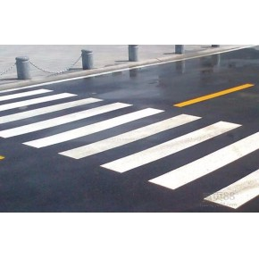 泰安道路划线施工车位划线热熔道路划线泰安宏凯