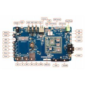 智能硬件方案专业定制开发三星S5P6818开发板