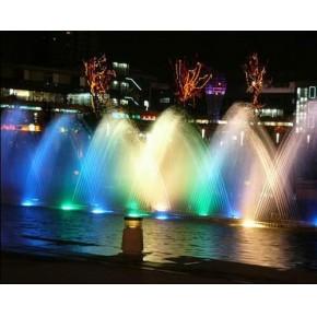 水幕音乐喷泉
