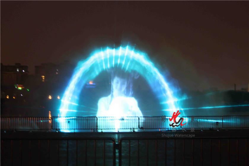 专业设计制作各类音乐喷泉 程控喷泉激光水幕电影