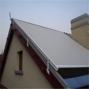 定做阳光房电动天幕蓬  户外抗风天幕遮阳棚