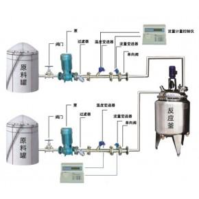 液体定量加料计量系统 反应釜定量配料系统