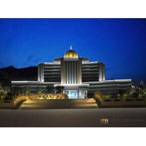 县政府办公楼led照明公司设计