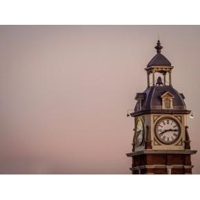 华声钟表专业维修户外挂钟 户外大挂钟免费维修