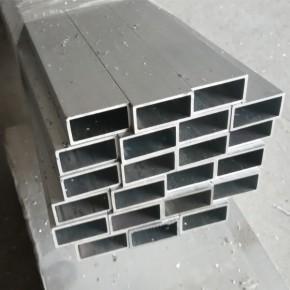 6063矩形铝方管 厚壁氧化铝方管