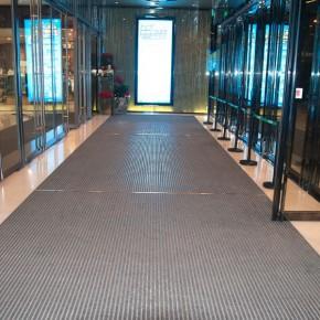 旋转门除尘地垫防滑除尘地垫