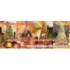 上海圣诞节装饰 圣诞场景布置 圣诞节气氛布置