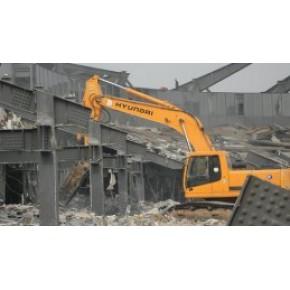 上海整廠拆遷上海鋼結構廠房拆除回收整廠拆除回收