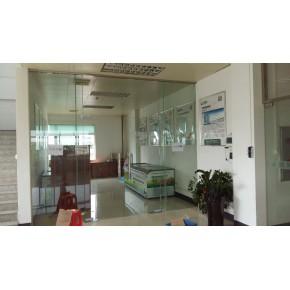 无框钢化玻璃门