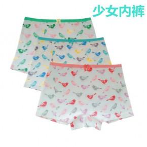 中山薇恩服饰儿童少女平角三角内裤卡通内裤生产厂家