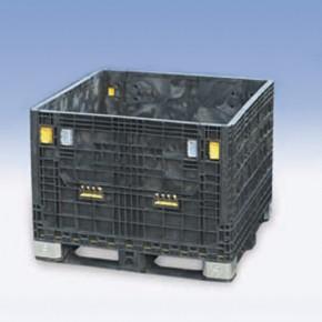 塑料箱式托盘加厚超大型网格箱可折叠式卡板箱